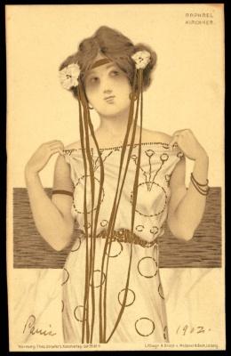 Art Nouveau Kleid